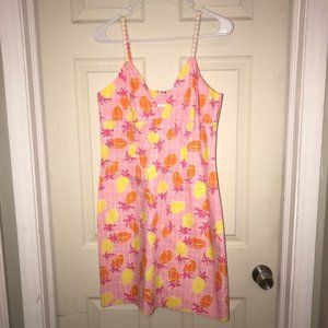 Vintage Lilly Pulitzer Women's Pink Dress Sz 8